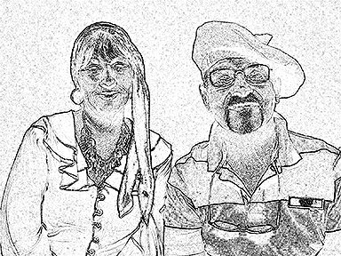 sketch photo booth printout